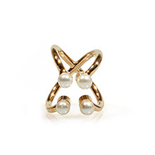 狂欢戒指♥ <br> 4分钟珍珠
