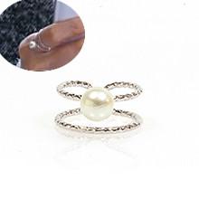 [一句温暖的话]两颗带珍珠的戒指