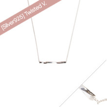 [SILVER925] Twisted V.03