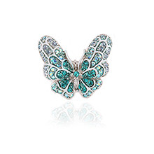 [Yun Sonha] [迷你尺码]把蝴蝶放在我手上★!!薄荷蝴蝶戒指