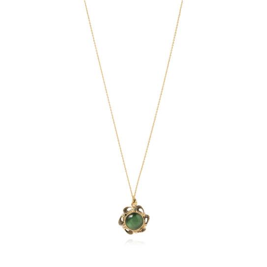绿色宝石项链
